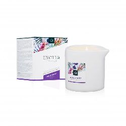 Exotiq Massagekerze Violet Rose - 60g_E14X254A__EX-MC-02-60