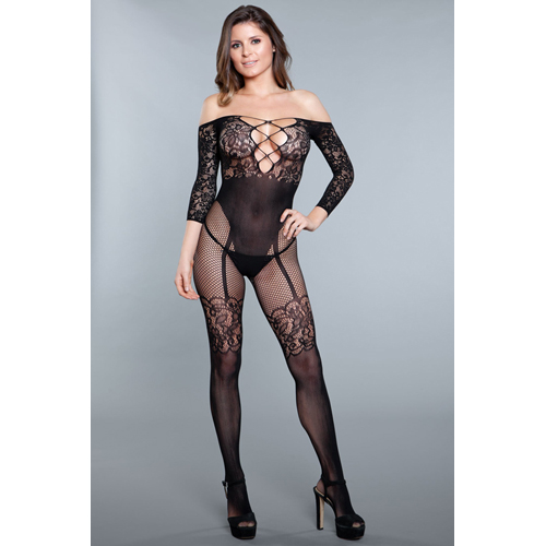 Artikel Nr-E24X290D__1890-BLACK-OS-4__pillow-talk-bodystocking-Nr-E24X290D-