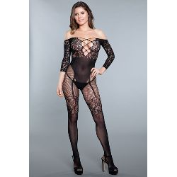 Artikel Nr-E24X290D__1890-BLACK-OS_Ansicht-0_pillow-talk-bodystocking-Nr-E24X290D-