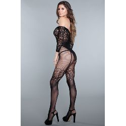 Artikel Nr-E24X290D__1890-BLACK-OS_Ansicht-2_pillow-talk-bodystocking-Nr-E24X290D-