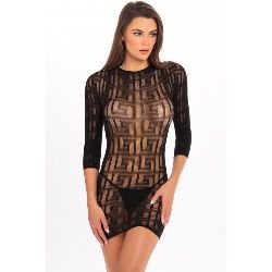 Reckless Minikleid - Schwarz_E33X463D__757078BLK